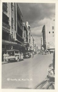 RP: MANILA, Philippines, 1946 ; Escolta Street