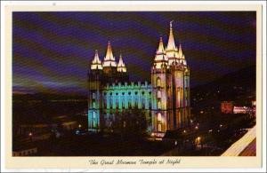 Mormon Temple, Salt Lake City UT