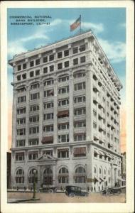 Shreveport LA Commercial Bldg c1920 Postcard