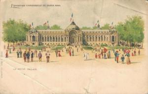 France Exposition Universelle de paris 1900 Le Petit Palais 01.96