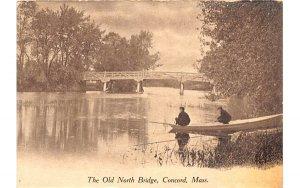 The Old North Bridge Concord, Massachusetts Postcard