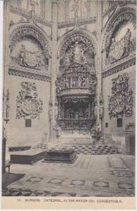 Interior View, Altar Mayor del Condestable, Catedral, Catedral, Burgos, Casti...