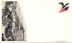 Pennsylvania Gettysburg Devil's Den Private Mailing Card