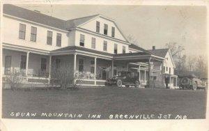 LP54   Greenville Maine   Squaw Mountain Inn   RPPC Postcard