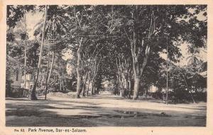 German East Africa Tanzania Dar Es Salaam Park Avenue