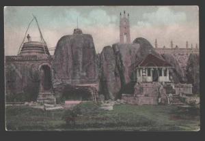 113515 Sri Lanka CEYLON Anuradhapura ruins Isurumuniya Temple