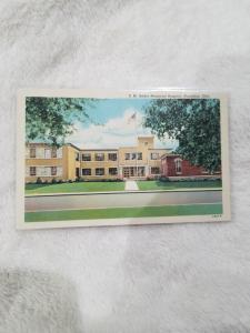 Antique Postcard, S. M. Heller Memorial Hospital, Napoleon, Ohio