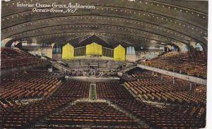 Interior, Ocean Grove Auditorium, Ocean Grove, New Jersey, PU-1914