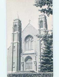 Unused Pre-1980 CHURCH SCENE Sherburne - Near Norwich & Cortland NY A7773