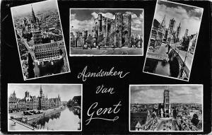 Belgium Aandenken van Gent, multiviews souvenir
