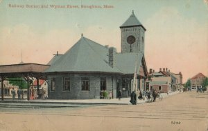 STOUGHTON , Massachusetts , 00-10s ; Railway Station