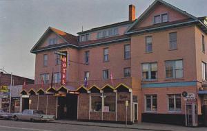 Exterior,  National Hotel,  Vernon,  B.C., Canada,  40-60s