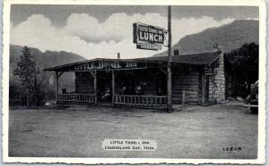 Cumberland Gap ,Tennessee Postcard LITTLE TUNNEL INN Roadside LUNCH 1940s Unused