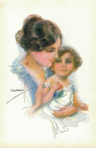 Artist Signed - Mother And Daughter Usabal 04.40