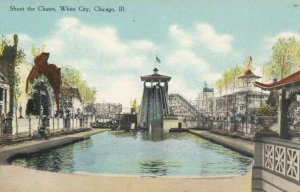 CHICAGO, Illinois, 00-10s ; White City , Shoot the Chutes