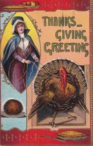 THANKSGIVING, PU-1912; Thanksgiving Greetings