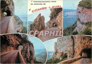 Postcard Old Route Laval Combe Landscapes Royans dominant 700 meters Cholet t...