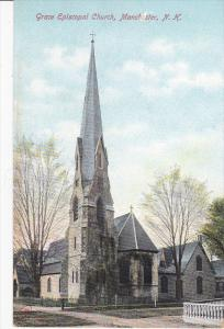 MANCHESTER, New Hampshire, 1900-1910's; Grace Episcopal Church