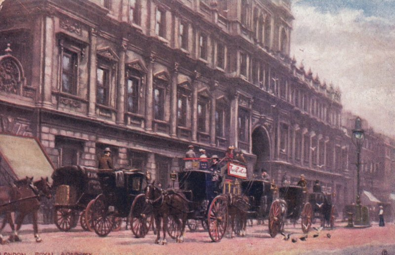 LONDON , England , 1900-10s ; Royal academy ; TUCK 6195