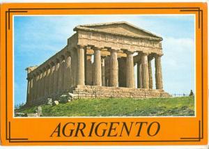 Italy, Italia, AGRIGENTO, 1989 used Postcard