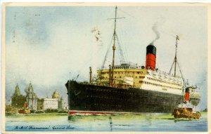 Cunard Line - RMS Franconia