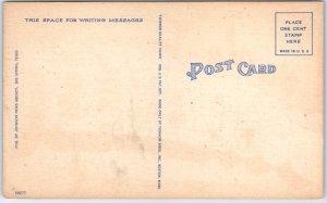 1940s The Ole SOUTHWEST Large Letter Postcard TICHNOR Linen c1950s Unused