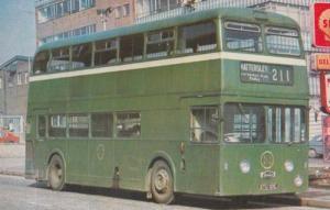 211 Hattersley Hathershaw 1965 Daimler Old Bus Transport Vintage Photo Postcard