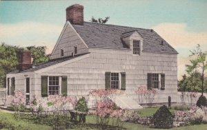 Michigan Dearborn Edgar Allen Poe House Handcolored Albertype sk2731