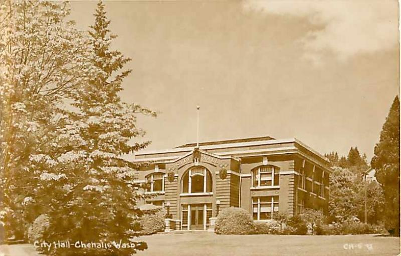 RPPC of the City Hall at Chehalis Washington WA