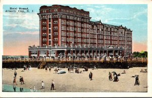New Jersey Atlantic City Hotel Strand 1924
