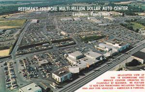 LANGHORNE, Pennsylvania , 50-60s; Reedman Corporations, Aerial View of Showrooms