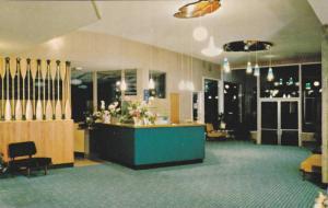 Interior, Lobby, The Shoreline Hotel,  Nanaimo,  B.C.,  Canada,  40-60s