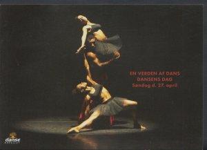 Theatrical Postcard - En Verden Af Dans Dansens Dag, Danse Kapellet  T846