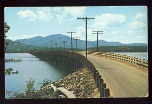 Sandpoint, Idaho/ID Postcard, Two-Mile Bridge, 1954!