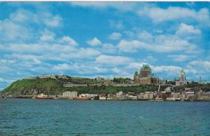 View from the Water of the City of Quebec, Canada, 40-60´s