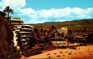 Hawaii Maui Kaanapali Beach The Sheraton-Maui Hotel