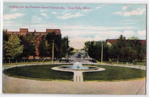 Fountain, great Falls MT