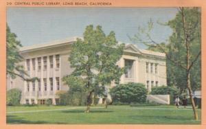 California Long Beach Central Public Library