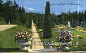 Sunken Garden, Manito Park