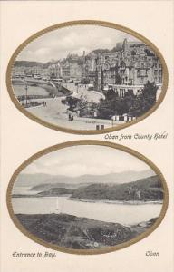 Scotland Oban From County Hotel and Entrance To Bay