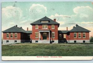 Postcard OH Ashtabula General Hospital 1909 E03