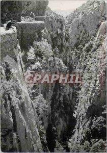 Modern Postcard St Paul de Fenouillet (Pyr O) Galamus Gorges