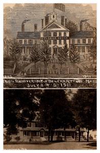 Massachusetts  Belchertown , 150th Anniversary , Park View Motel  , RPC