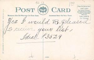 Baltimore Maryland~Goucher College~Vingolf Hall~Maryland @ 24th~1910 Postcard