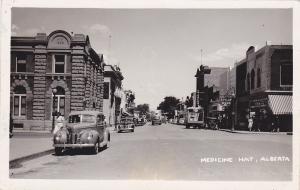 RP: Main Street , Medicine Hat , Alberta , Canada , PU-1947