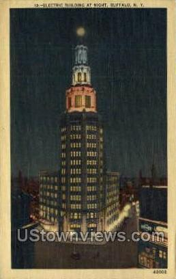 Electric Bldg Buffalo NY Unused