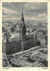 Hamburg Rathaus Auto Vintage Cars Voitures Town Hall