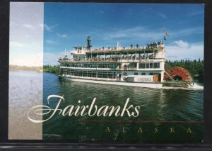 Sternwheeler Discovery III, Fairbanks, Alaska unused