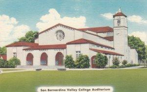 SAN BERNADINO, California, 30-40s; San Bernardino Valley College Auditorium