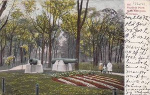 Illinois Chicago Garfield Park South East Entrance 1906